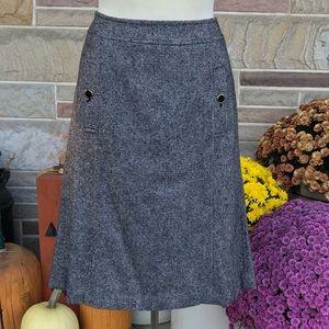 Talbots Tweed Wool Skirt